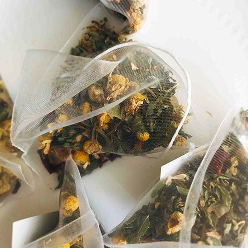 chamomile relaxation herbal tea bag