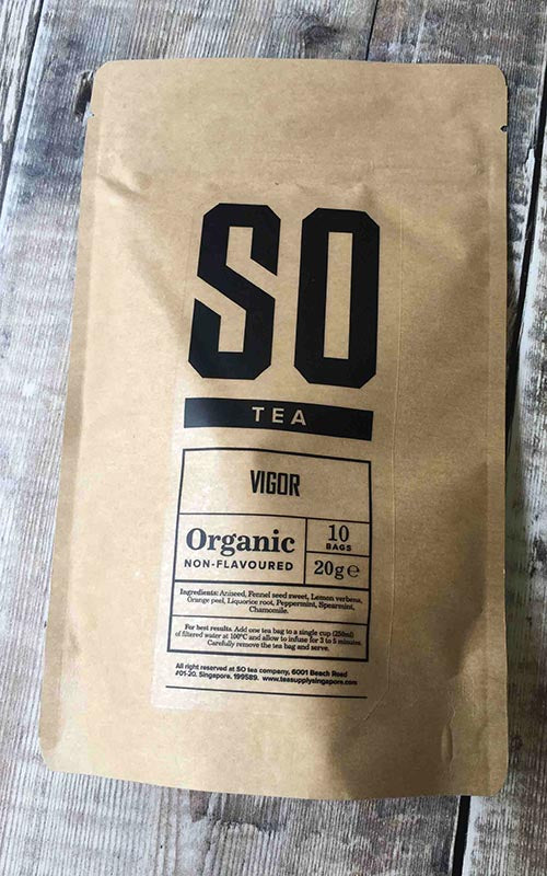 organic herbal chamomile blend