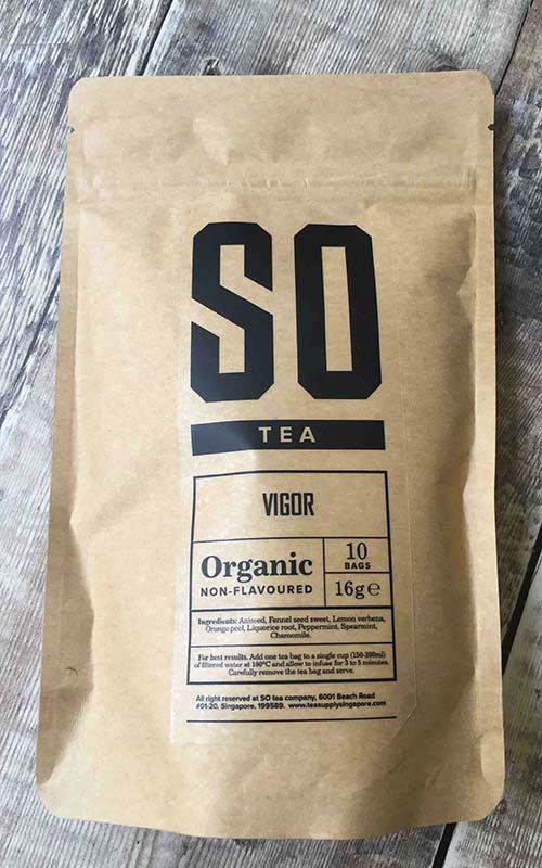 organic herbal camomile blend