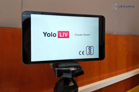 YoloLiv YoloBox Unboxing Product Review with simple setup overview welcome page