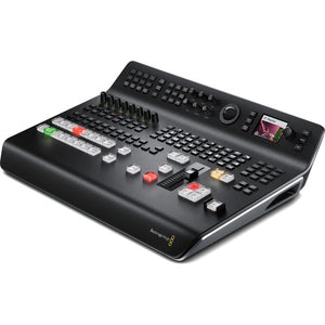 Blackmagic Design ATEM Television Studio Pro HD Live Production Switcher side view