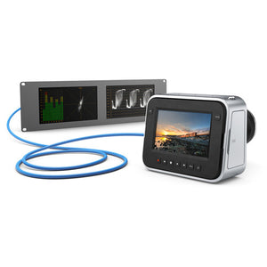 Blackmagic Design SmartScope Duo 4K Rack-Mounted Dual 6G-SDI Monitors connection devices