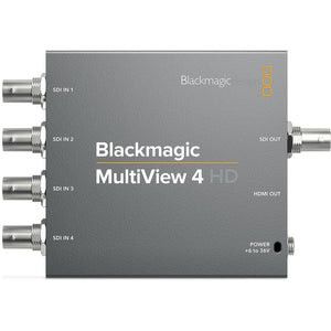 Blackmagic desig multiview 4 HD upper view