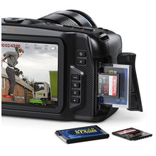 Load image into Gallery viewer, Blackmagic Design Pocket Cinema Camera 4K/Pro Monitoring Kit SD cards