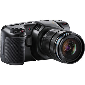 Blackmagic Design Pocket Cinema Camera 4K/Pro Monitoring Kit side view