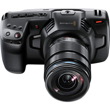 Load image into Gallery viewer, Blackmagic Design Pocket Cinema Camera 4K/Pro Monitoring Kit upper with lens