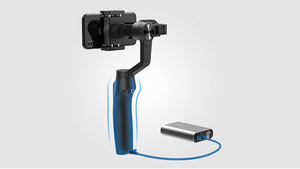 Moza Mini-MI 3-Axis Smartphone Gimbal Stabilizer with Wireless Phone Charging