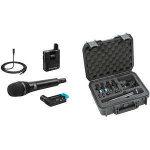 [Made in Germany] Sennheiser AVX-ME2 SET Digital Camera-Mount Wireless Omni Lavalier Microphone System (1.9 GHz)