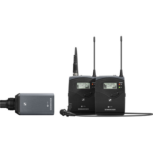 Sennheiser EW 100 ENG G4 Camera-Mount Wireless Combo Microphone System (G: 566 to 608 MHz)