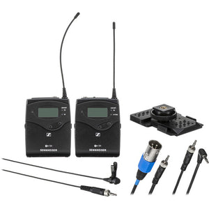 Sennheiser EW 100 ENG G4 Camera-Mount Wireless Combo Microphone System package