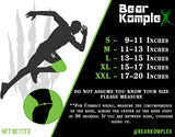 Bear KompleX Compression Knee Sleeves, Fitness & Support for Workouts & Running. Sold in Pairs-Crossfit Training, Weightlifting, Wrestling, Squats & Gym Use. 5mm&7mm Thick, Multicolor Options