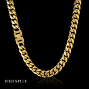 MIAMI CUBAN LINK 12MM ZŁOTO