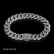 BLACK DIAMOND CUBAN LINK 12MM