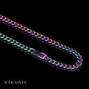 RAINBOW MIAMI CUBAN LINK 8MM