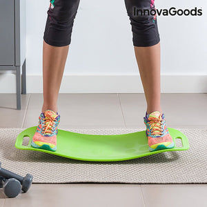 InnovaGoods Fitness Balance Board with Workout Guide