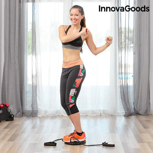 InnovaGoods Cardio Twister Disc with Exercise Guide