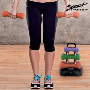 Fitness Dumbbell Set with Holder