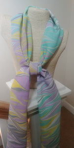 Ziggy Hand-Painted Silk Scarf