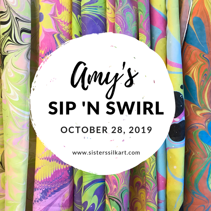 Amy's Sip 'n Swirl Party
