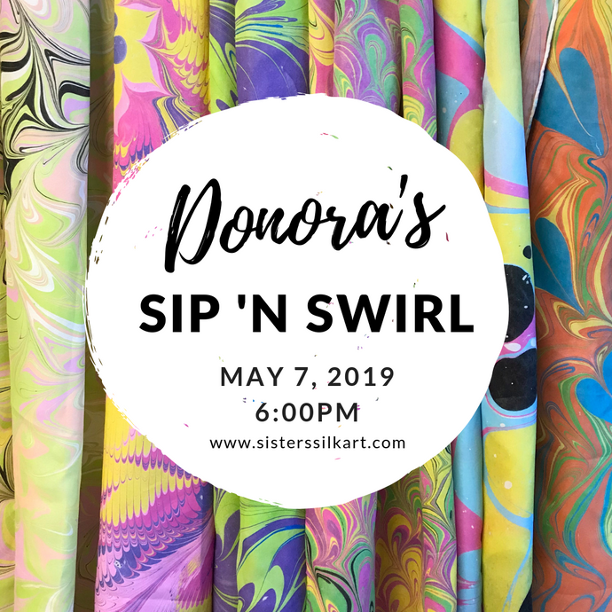 Donora's Sip 'n Swirl Party