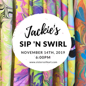 Jackie's Sip 'n Swirl Party