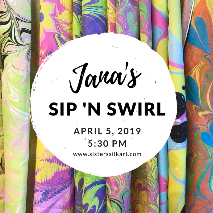 Jana's Sip 'n Swirl Party