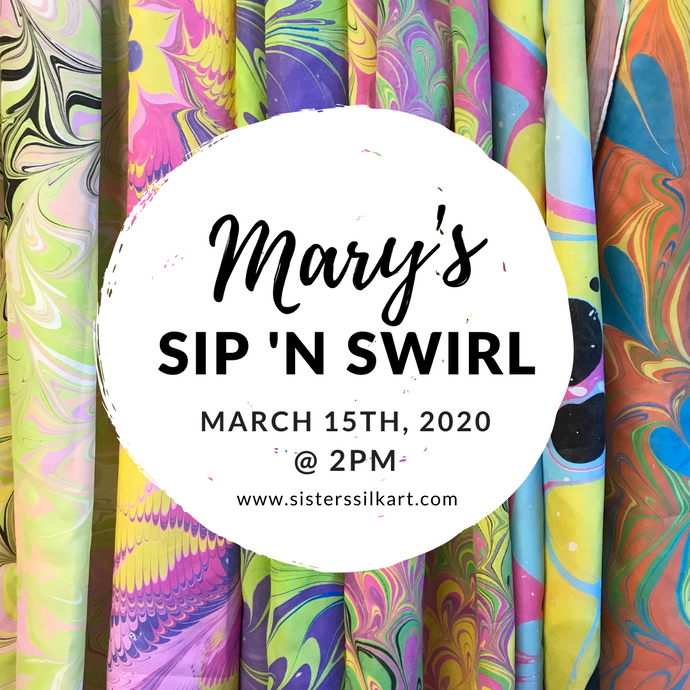 Mary's Sip 'n Swirl Party