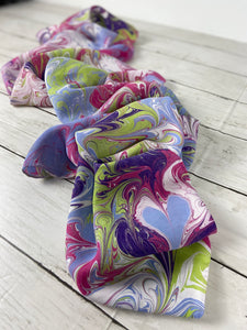 """Splash of Spring"" Silk Scarf"