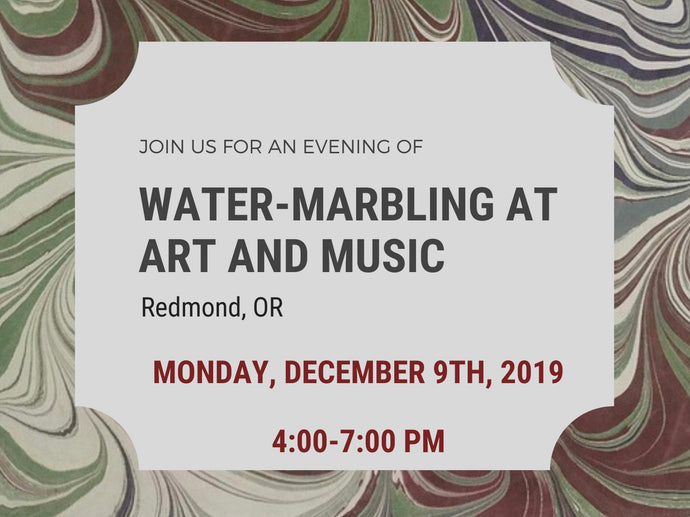 Redmond-Water-Marbling at Art and Music