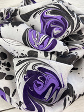 """Purple Universe"" Silk Scarf"