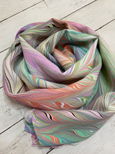 """Ribbons of Taffy"" Silk Scarf"