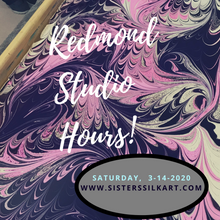 Redmond Studio Sessions - Saturday, March 14th