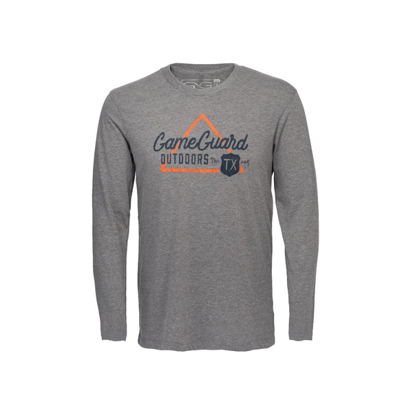 Heather Gray Graphic Tee | Long Sleeve