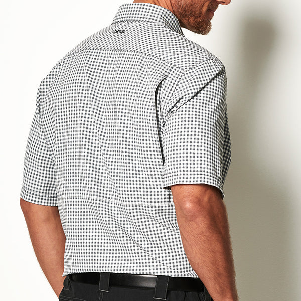 White TekCheck Shirt