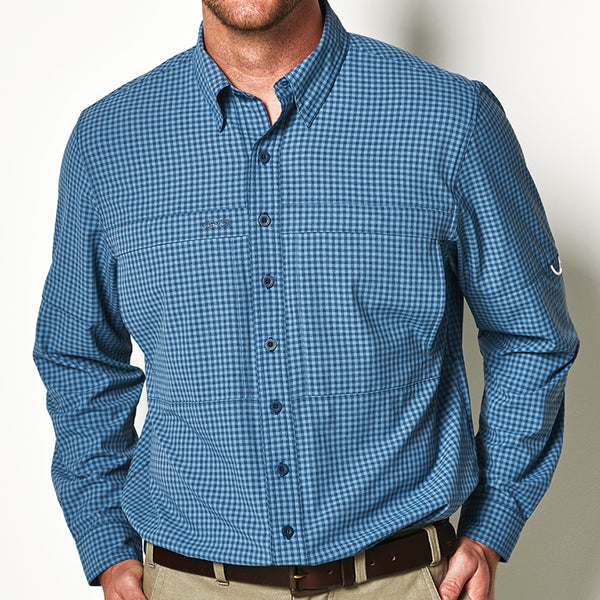 Slate TekCheck Shirt l Long Sleeve