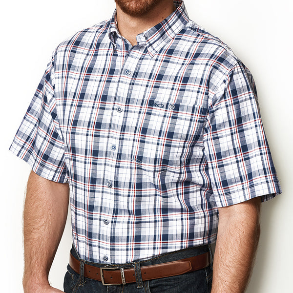 Deep Water Plaid Shirt