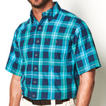 River Blue Plaid Shirt