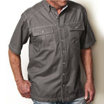 GunMetal Cotton Shirt