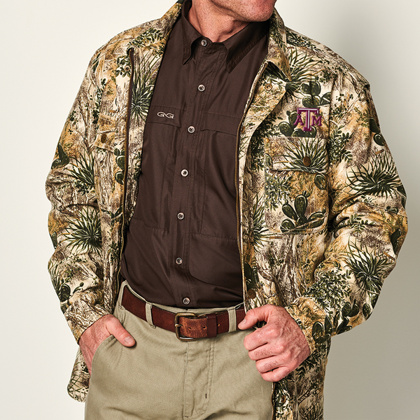 GameGuard  Texas A&M University Canvas Jacket - GameGuard Outdoors