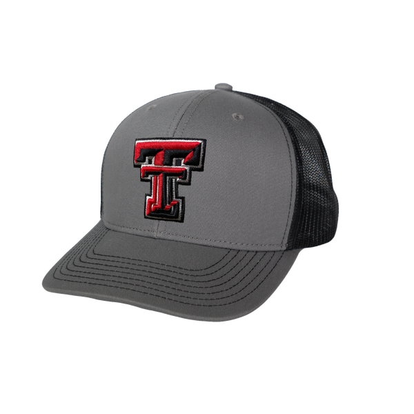 GameGuard Texas Tech University GunMetal Cap | Caviar MeshBack
