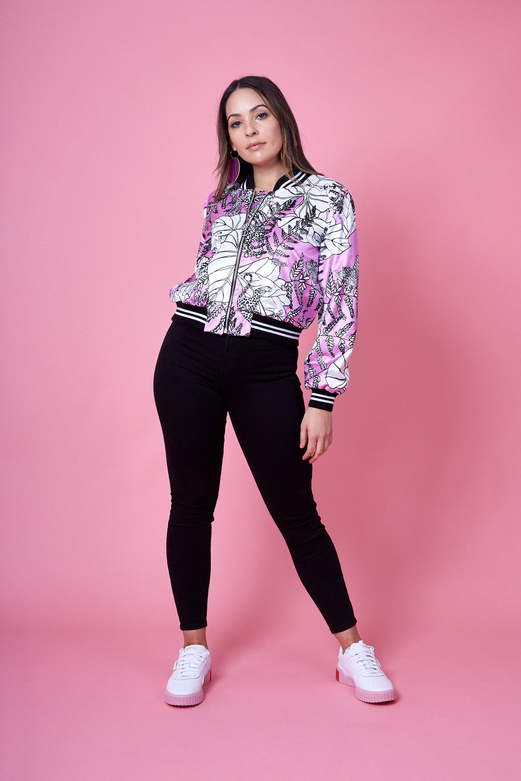 Bomber Jacket- Jungle Print