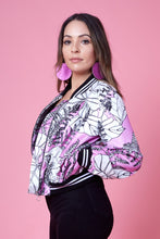 Load image into Gallery viewer, Bomber Jacket- Jungle Print