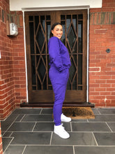 Load image into Gallery viewer, Trackies- Solid Purple