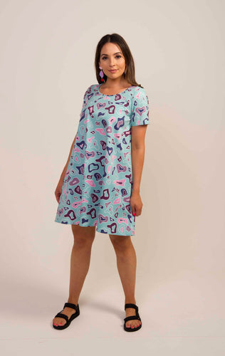 Pebble Swing Dress