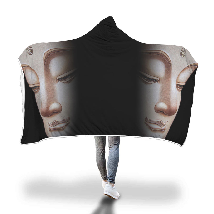 Mindfulness Hooded Blanket-Beyoubebuddha