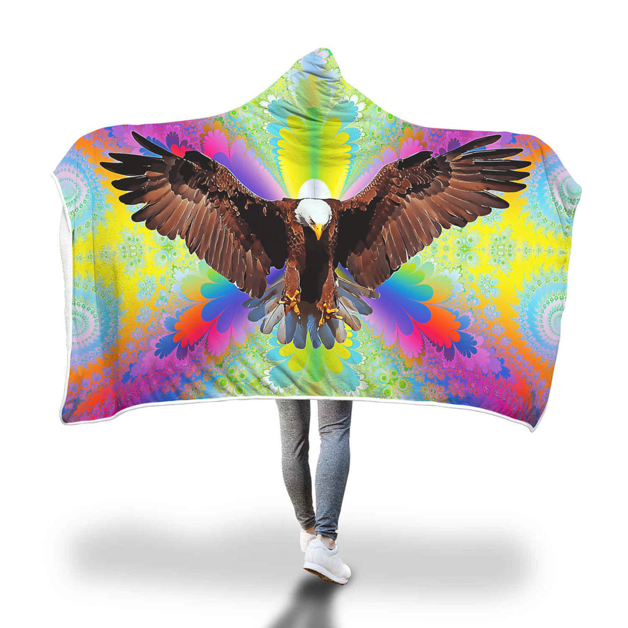 Majestic Eagle Hooded Blanket-Beyoubebuddha