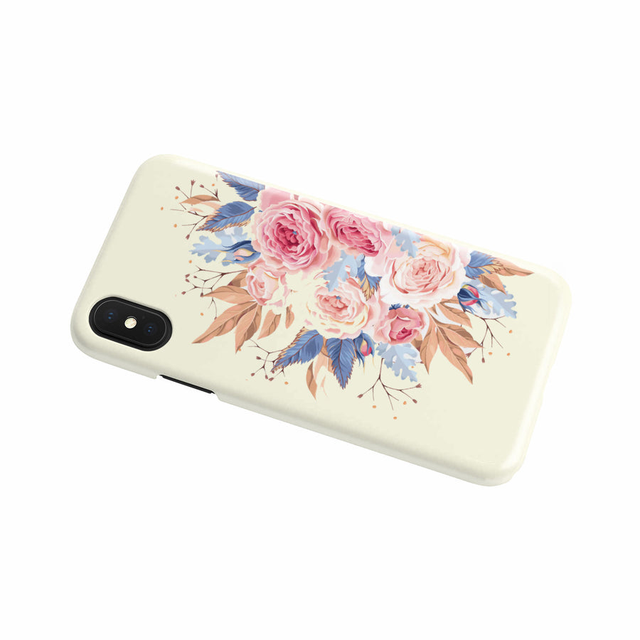 Flowers Phone Case (Beige)-Beyoubebuddha