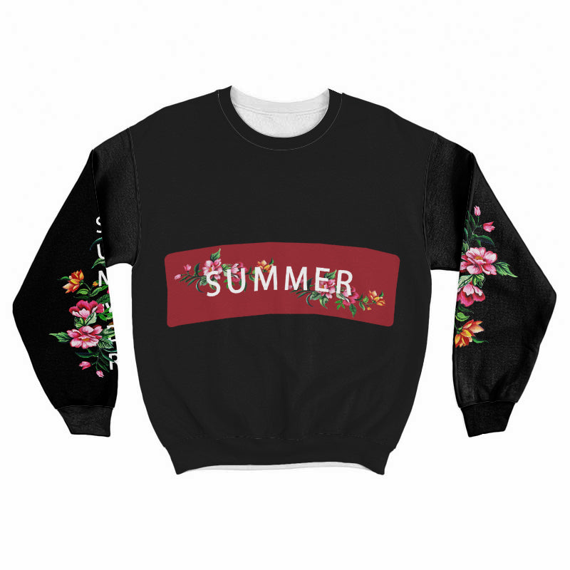 Summer Flowers Sweatshirt