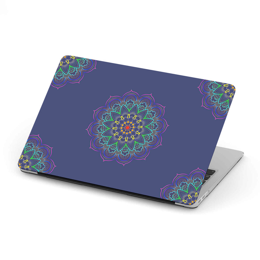 Mandala MacBook Case