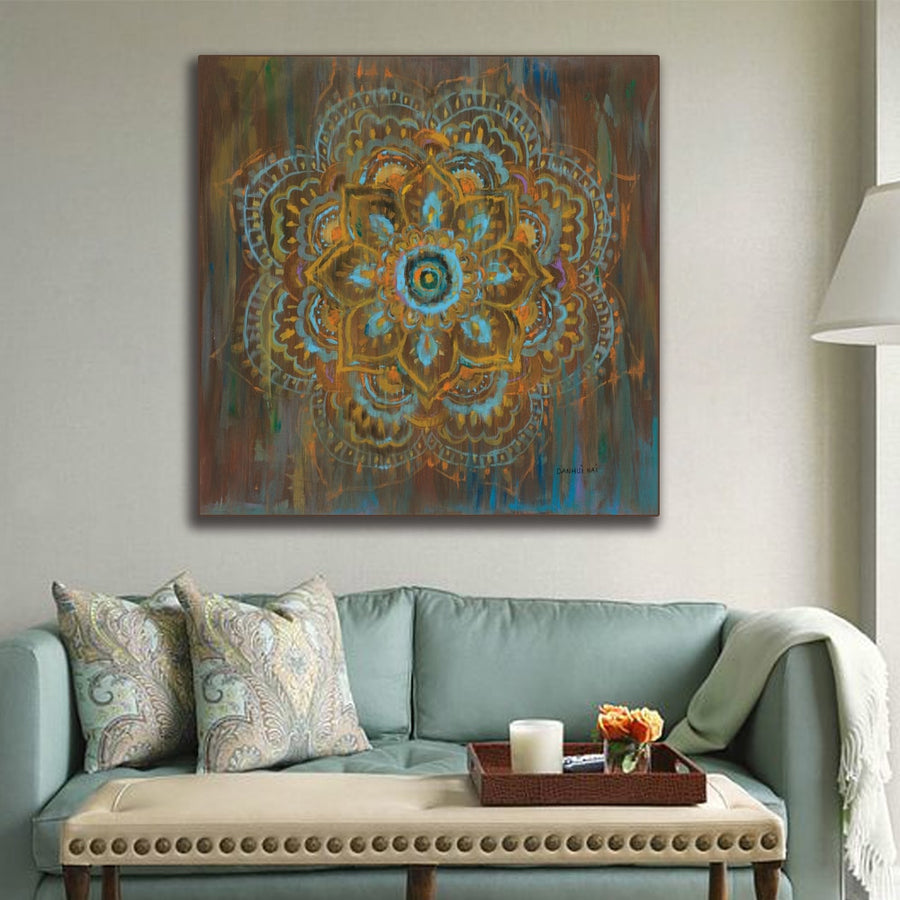Mandala Canvas Painting